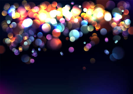 blurred lights: Blurred lights background. Vector Illustration.  Illustration