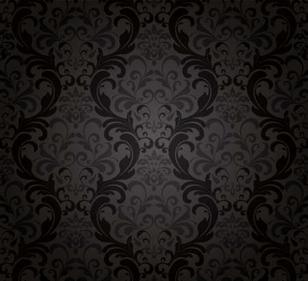 Black Wallpaper.  Stock Vector - 11422585