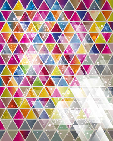 삼각형: 삼각형 패턴으로 추상적 인 배경