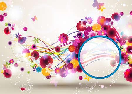 spring: Spring Floral Background
