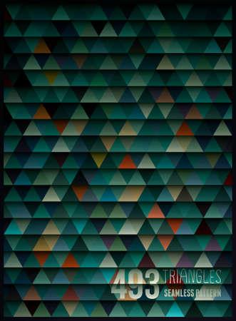 幾何学的なシームレス パターン
