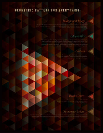 Geometric pattern for everything Vector