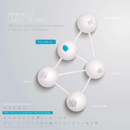 ミニマリストのレイアウト設計