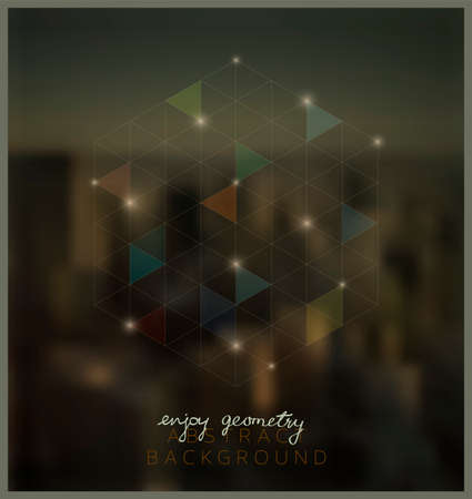 tecnologia: Fundo geométrico abstrato