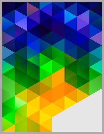 芸術的: 抽象的な幾何学的な背景  イラスト・ベクター素材