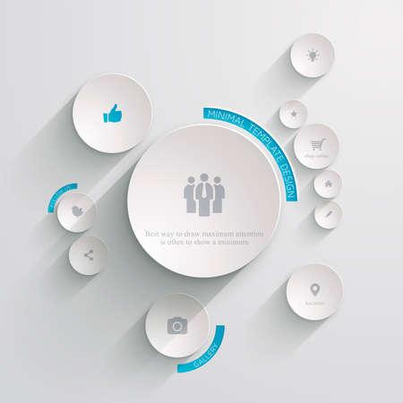 最小限の Web テンプレート