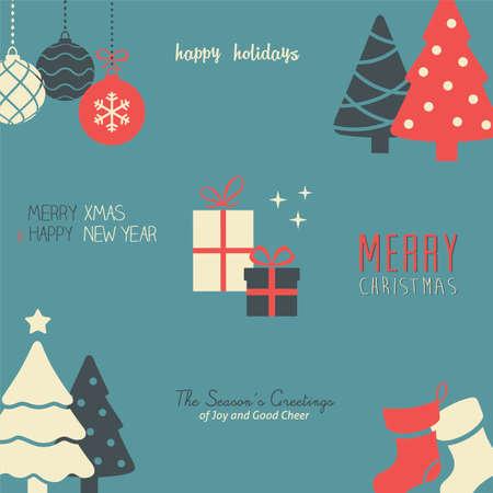 pascuas navideÑas: Patrón de vacaciones  Wallpaper