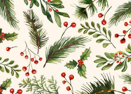 Holiday Pattern Illustration