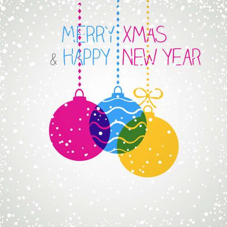 Holiday Greeting Card Vectores