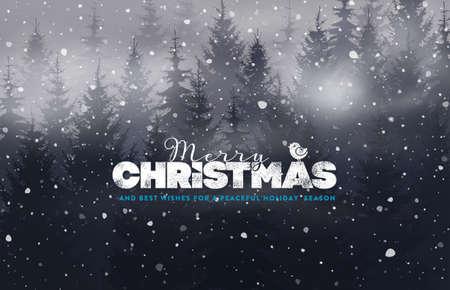 Holidays Handwritten Typography over blurred background 일러스트