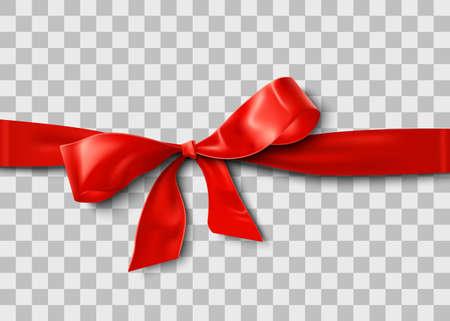 Satin Ribbon Bow design element 矢量图像