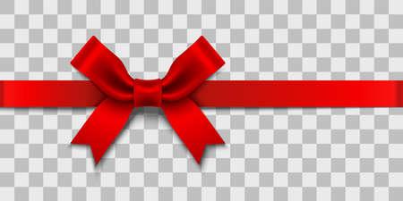 Satin Ribbon Bow design element  イラスト・ベクター素材