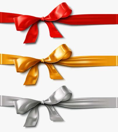 Satin Ribbon Bow design element