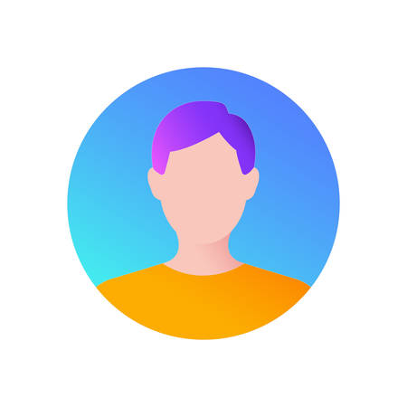Avatar, man Icon, Illustration