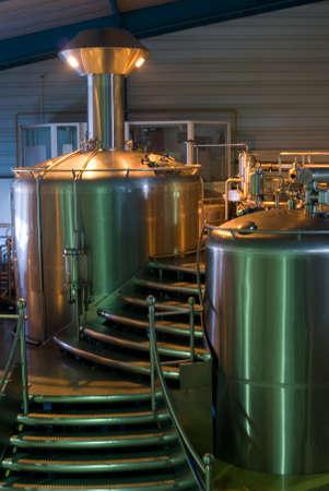 brewer: f�brica de cerveza Foto de archivo