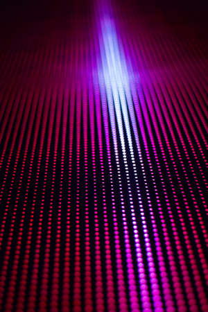 computer dancing: smd led screen display with abstract color picture