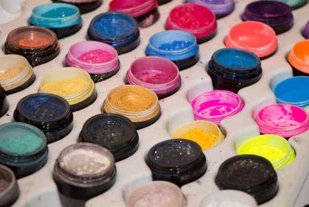 brilliant colors: big color palette with brilliant shiny metalic colors