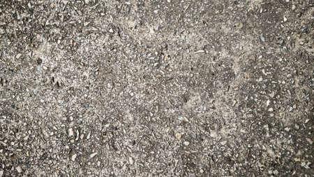 grained: grained grunge concrete macadam asphalt background