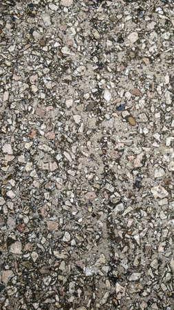 macadam: grained grunge concrete macadam asphalt background