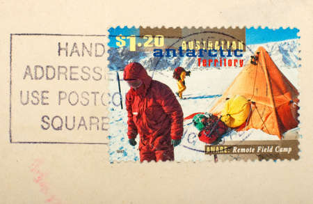 Australian antarctic stamp photo