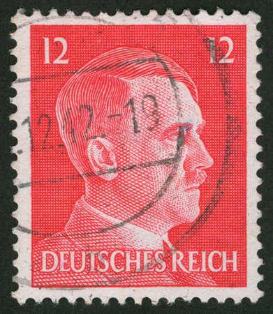 Adolf Hitler postage stamp