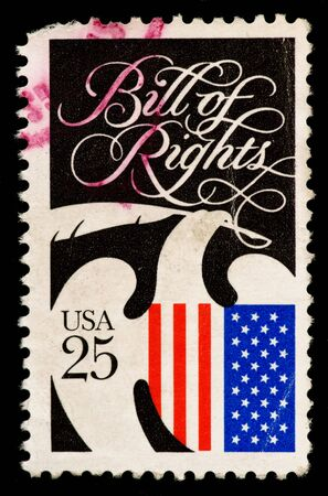Vintage US postage stamp photo