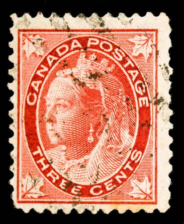 commonwealth: Vintage Canadian postage stamp