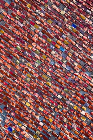 Abstract mosaic background Stock Photo - 8101643