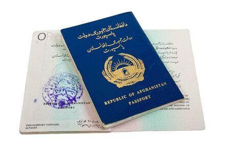 Republic of Afghanistan Passport