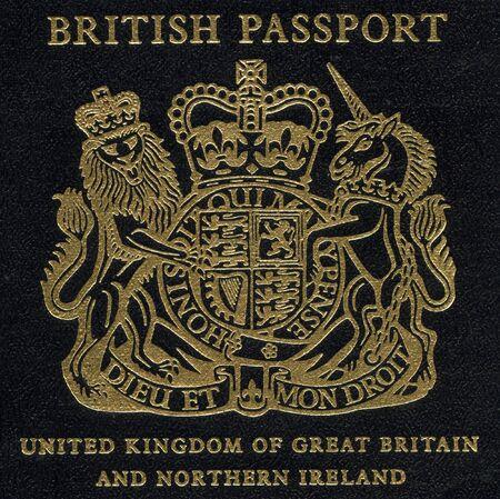Fragment of Old British Passport