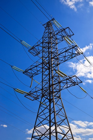pylon: High voltage electricity pylon