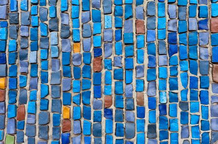 Abstract mosaic background Stock Photo