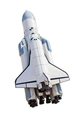 Ruimteschip Buran Stockfoto