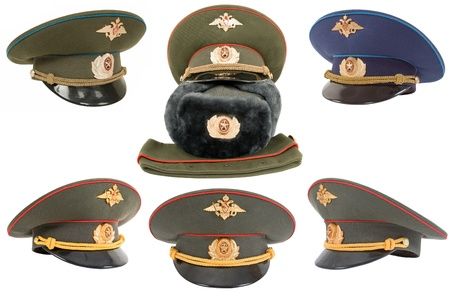 object oppression: The Russian army hats