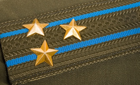 colonel: Shoulder strap colonel of the Russian Airborne Troops