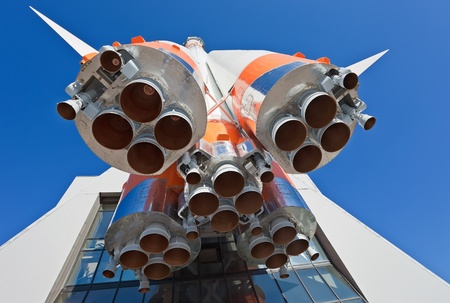 launch vehicle: Details of space rocket engine