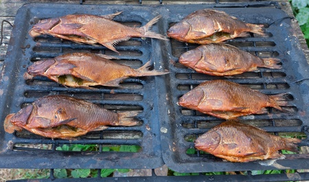 Smoked fish Stock Photo - 12515777