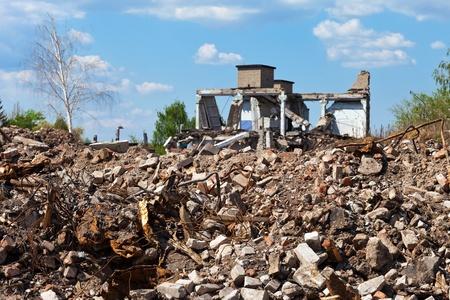 Ruinen von Gebäuden Standard-Bild - 13402914