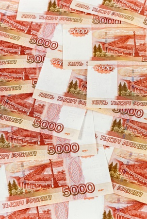 Russian rubles banknotes as background Stock Photo - 17433884