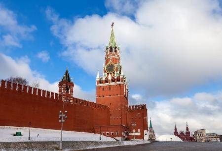 Spasskaya Tower of the Moscow Kremlin