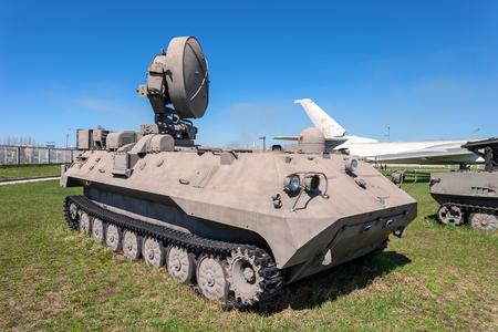locating: TOGLIATTI, RUSSIA - MAY 2, 2013: 1RL239 — mobile H-band artillery locating radar in Togliatti Technical museum Editorial