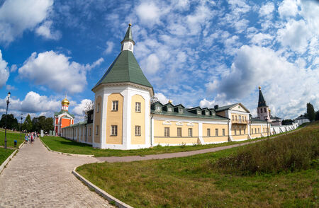 orthodox church: Russian orthodox church. Iversky monastery in Valday, Russia