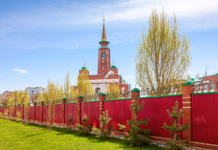Samara Cathedral Mosque is one of the largest mosques in Russia photo