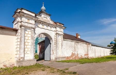 St. Georges (Yuriev) monastery in Veliky Novgorod, Russia