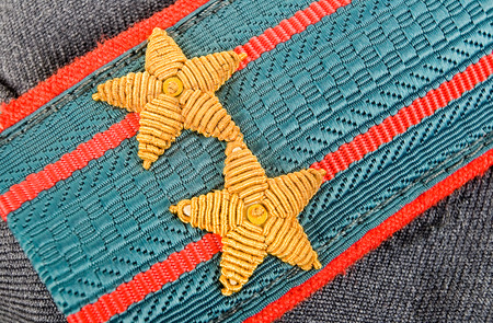 colonel: Shoulder strap of  lieutenant colonel of russian police