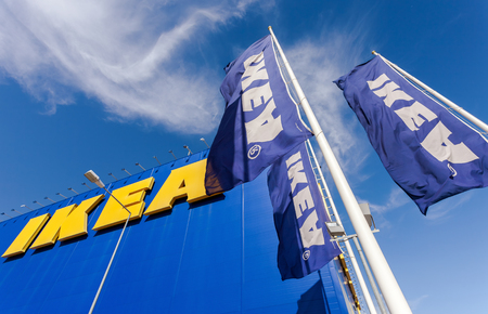 ikea: SAMARA, RUSSIA - JUNE 14, 2015: IKEA Samara Store. IKEA is the worlds largest furniture retailer and sells ready to assemble furniture