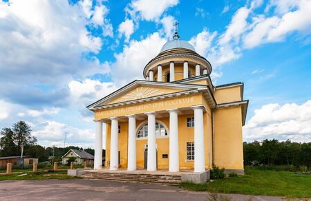 Cathedral of the Assumption of the Blessed Virgin Mary in Lubytino, Novgorod region, Russia