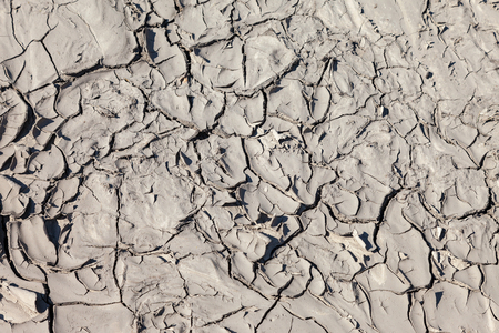 aridness: Ground surface with cracked as the background