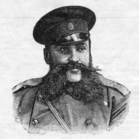 Nikolai Kleigels - Russian military and statesman, Adjutant-General, a general from the cavalry. Published in magazine Global Russian Calendar St. Petersburg, Russia, 1905
