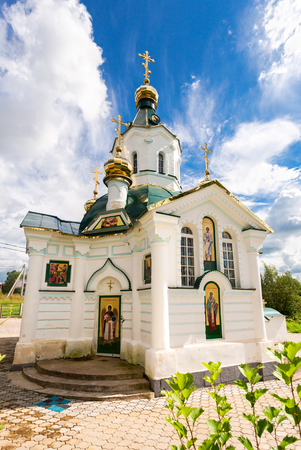 Church of the Icon of the Holy Mother of Tenderness in Borovichi, Russia